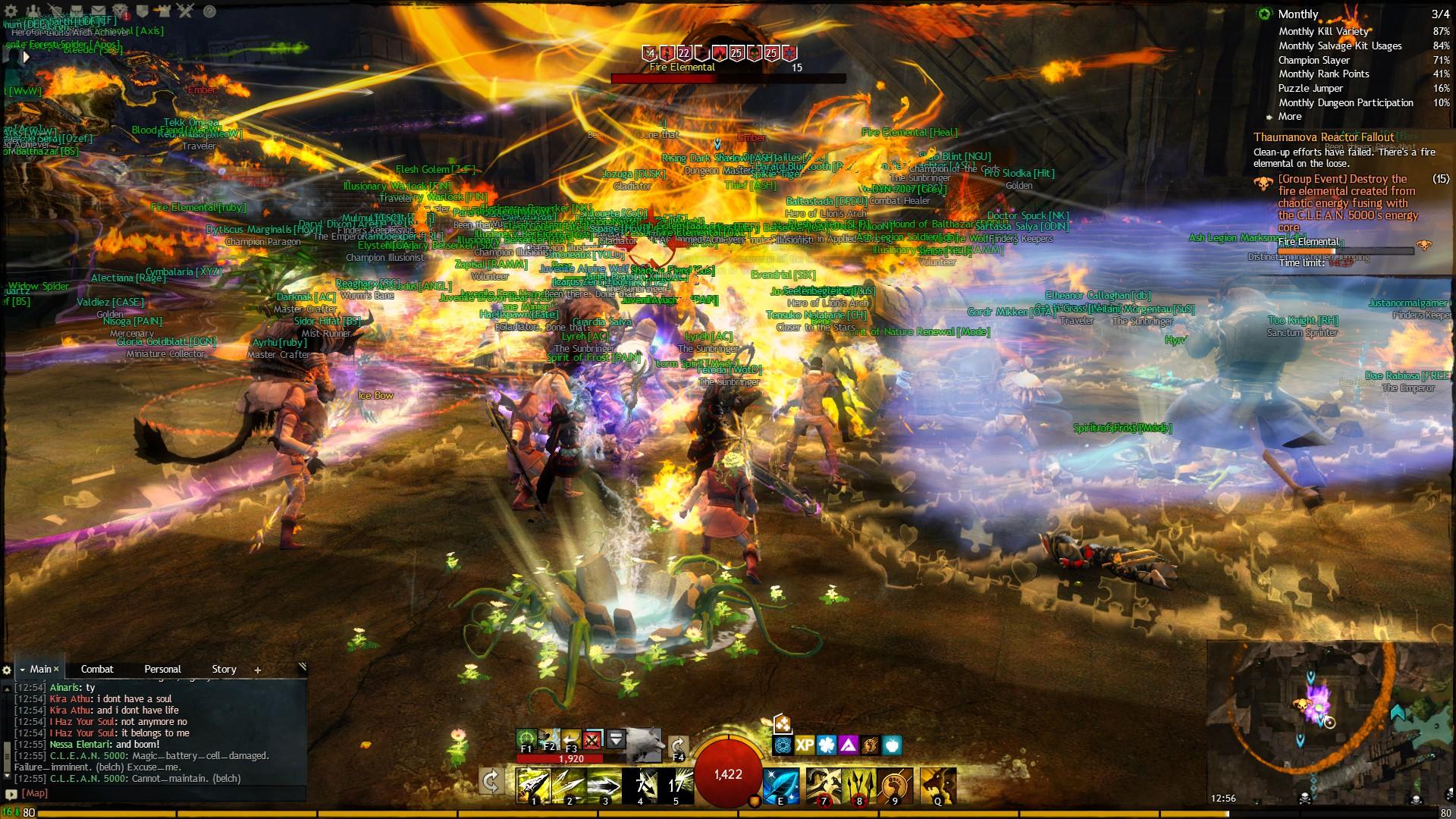 Guild Wars 2 Fire Elemental