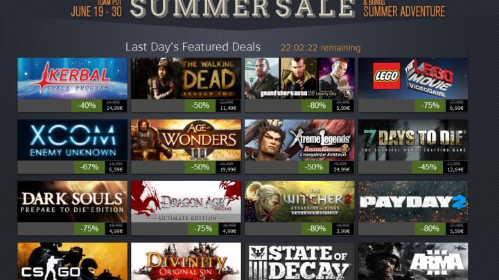 Summer Sale 2014 Steam Summer Sale 2014