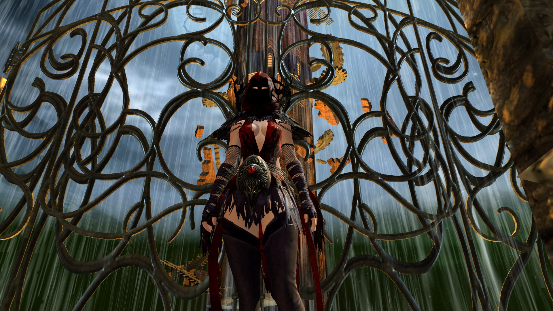 Raiment of the Lich outfit for Guild Wars 2 & Blood \u0026 Madness - Halloween in Tyria - Princess in a CastlePrincess ...