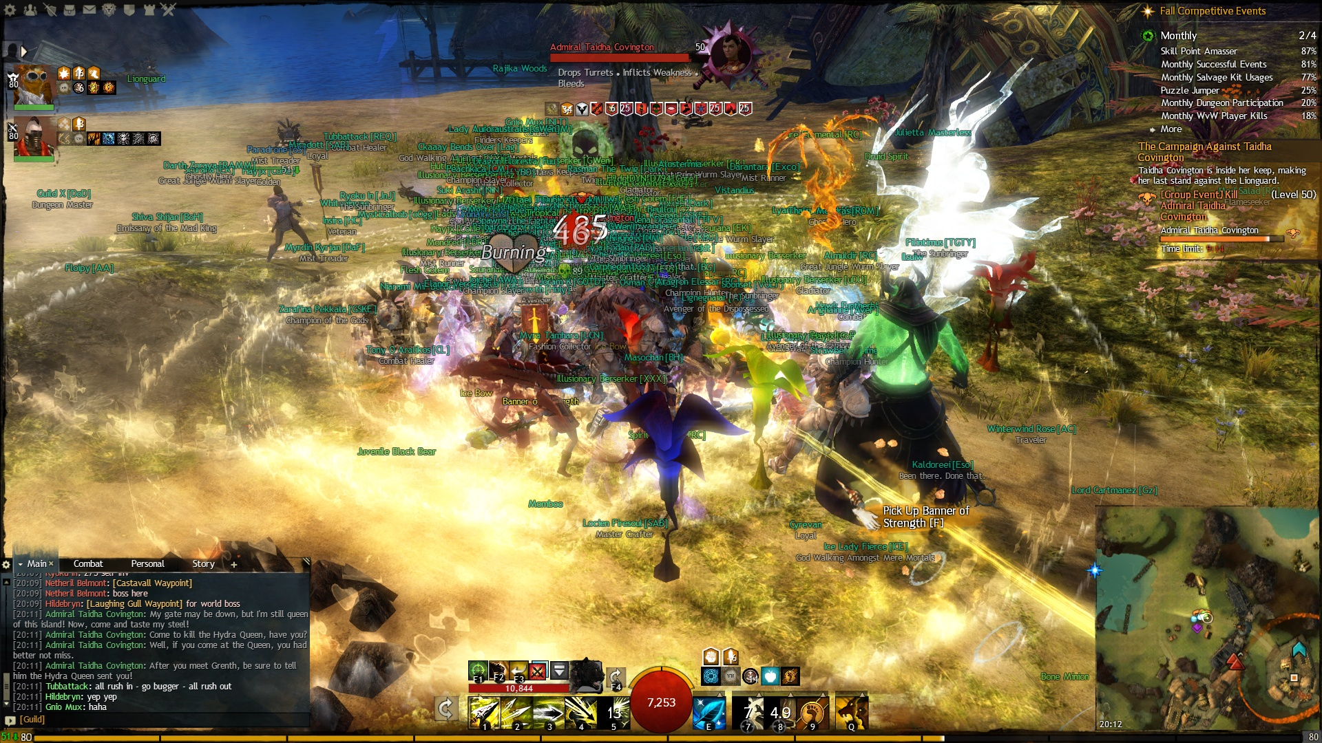 Guild Wars 2 - Taidha Boss Battle