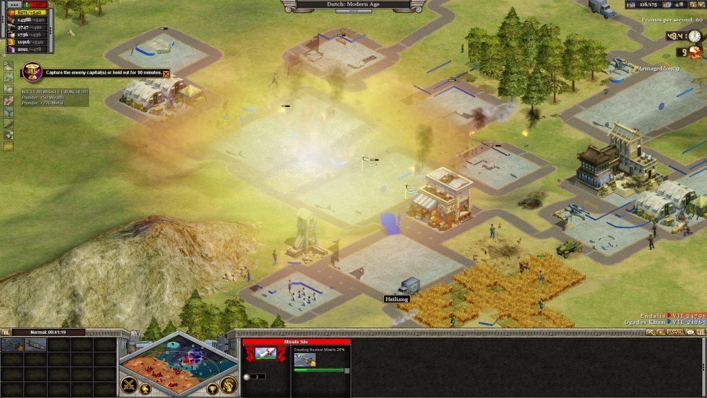 Rise of Nations - Nuking the place