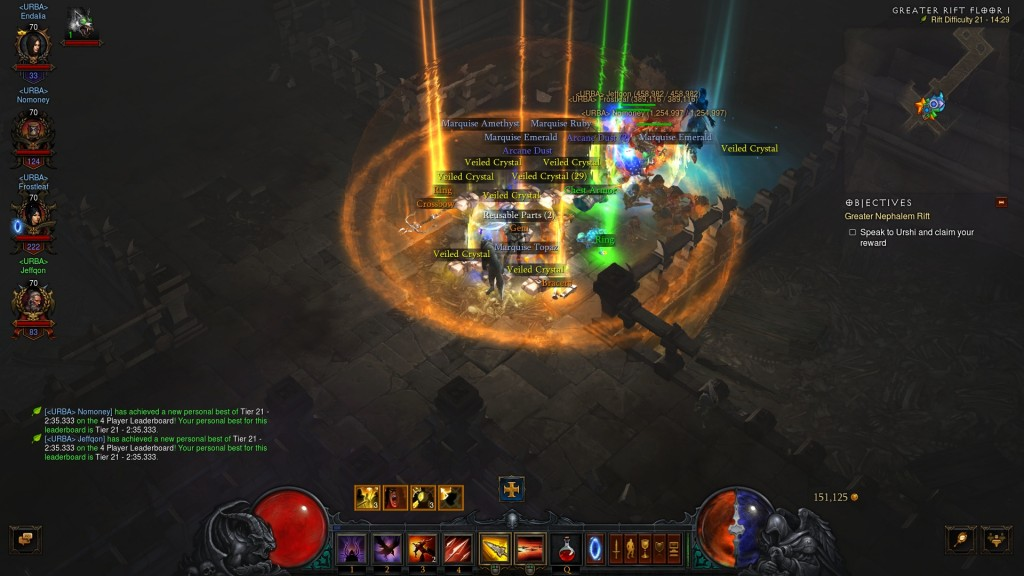 Legendaries dropping like mad - Diablo III