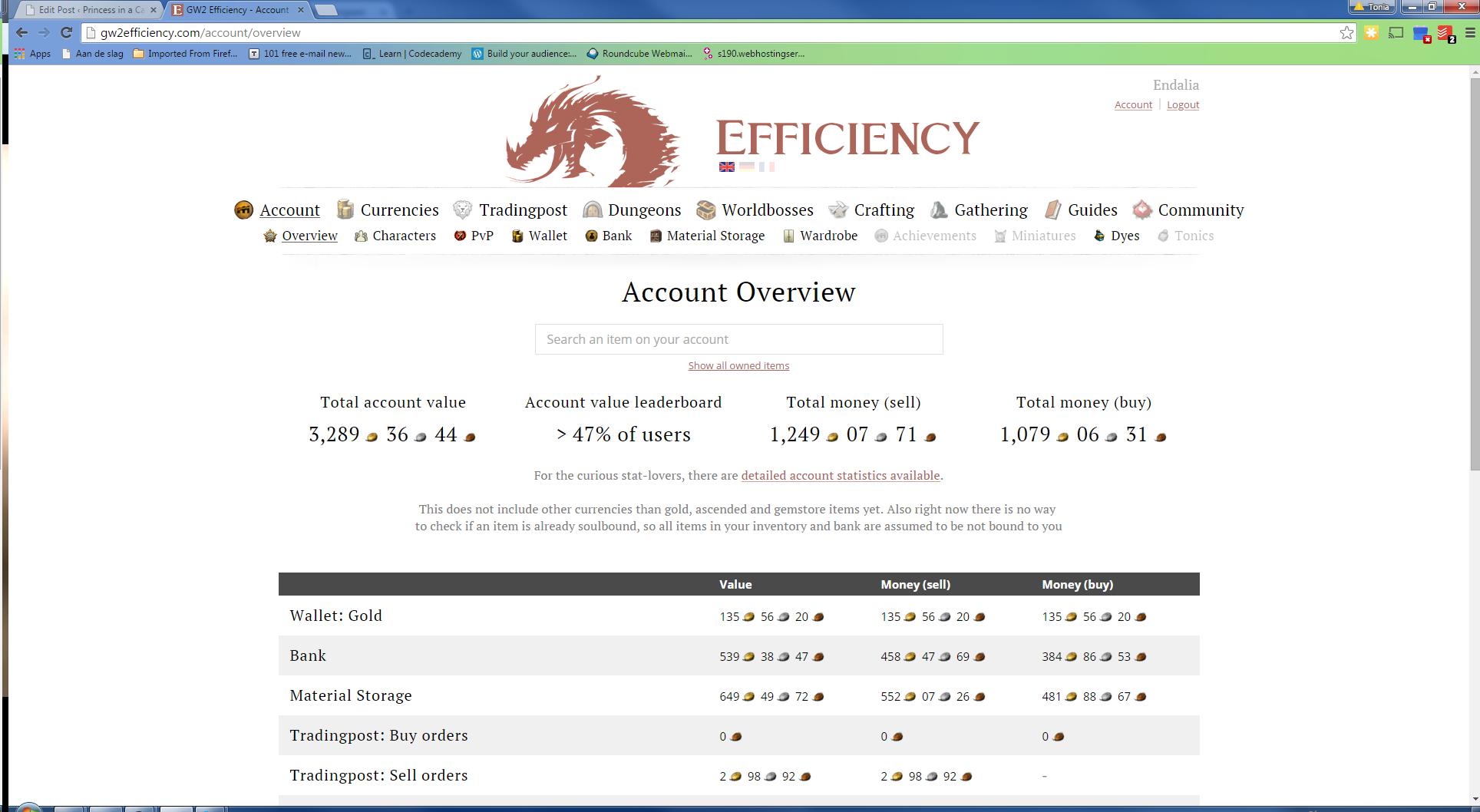 Gw2efficiency
