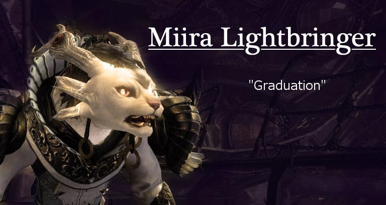 Miira Lightbringer - graduation